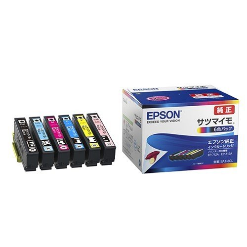 激安通販販売 インク エプソン トレンド 純正 カートリッジ SAT-6CL インクカートリッジ カラリオ