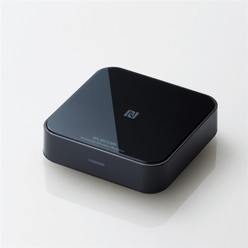レシーバー 高い素材 エレコム 正規取扱店 Bluetooth LBT-AVWAR501BK Bluetoothオーディオレシーバー ブラック