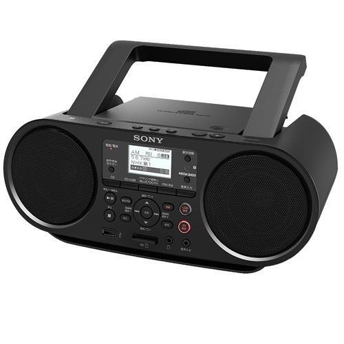 ソニー ZS-RS81BT Bluetooth CDラジオ 買い取り 毎日続々入荷 ワイドFM対応