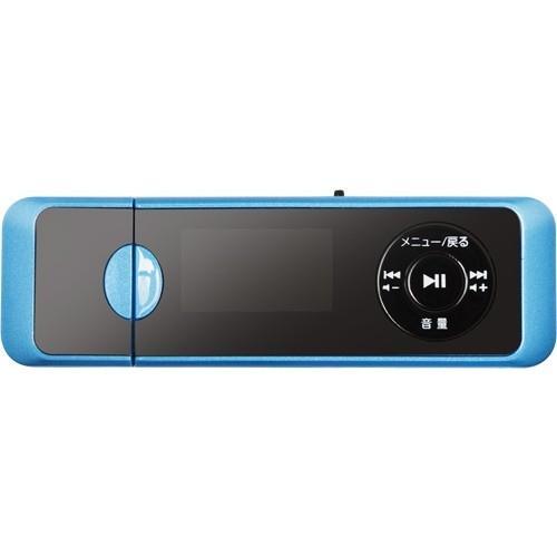 グリーンハウス GHYMPD16BL MP3プレイヤー 16GB ブルー ヤマダデンキ ...