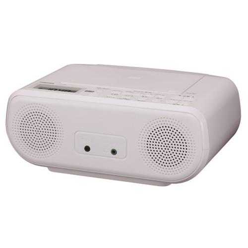 東芝 TY-C160 高級な W CDラジオ 無料サンプルOK ホワイト