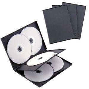 ナカバヤシ DVD-A008-3BK DVDトールケース モデル着用&注目アイテム 6枚収納 ブラック 3枚セット 人気の定番