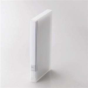 人気の製品 エレコム CCD-FB24CR Blu-ray DVD 24枚収納 新入荷 流行 クリア CD用ディスクファイル