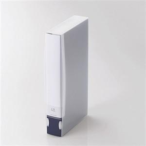 限定特価 エレコム 驚きの価格が実現 CCD-FB48BU Blu-ray DVD CD用ディスクファイル ブルー 48枚収納