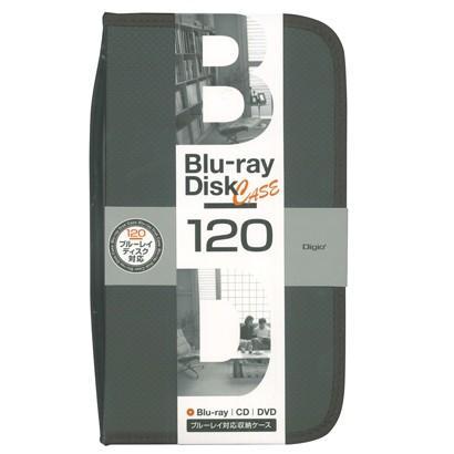 おすすめ ナカバヤシ BD-080-120-BK BD DVD メーカー再生品 ディスクケース ブラック CD用 120枚収納