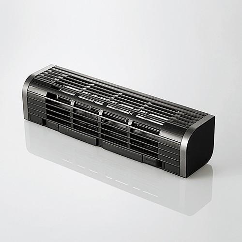 <セール&特集> お洒落 エレコム FAN-U177BK USB扇風機 多機能タイプ ブラック