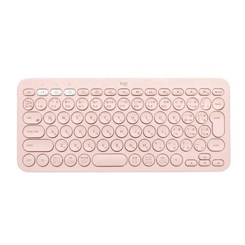 キーボード ロジクール 爆買い送料無料 Bluetooth 無線 K380RO 海外並行輸入正規品 ローズ マルチデバイス ワイヤレス