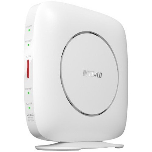 BUFFALO 日本 バッファロー WSR-3200AX4S-WH 受賞店 Wi-Fiルーター 親機 2401+800Mbps Wi-Fi 6 11ax AirStation ホワイト