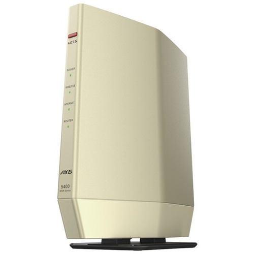 保障 休み バッファロー WSR-5400AX6S-CG 無線ルーター ゴールド