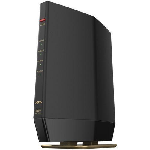 バッファロー 即納送料無料! WSR-5400AX6S-MB 豪華な ブラック 無線ルーター