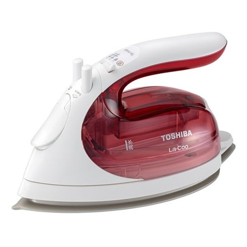 人気商品 当店限定販売 東芝 TA-FV450 P コードレススチームアイロン コンパクト 美 La ラクー ミ Coo ラクル ピンク