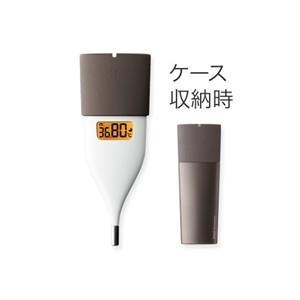 オムロン MC-652LC-BW 予約販売 再再販 ブラウン 婦人用電子体温計
