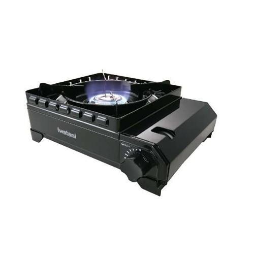 カセットコンロ 高い素材 イワタニ 使い勝手の良い 風よけ CB-ODX-1 カセットフー カセットこんろ ブラック タフまる