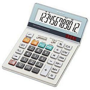 シャープ EL-S752K-X 電卓 国内即発送 アウトレットセール 特集 12桁 セミデスクタイプ