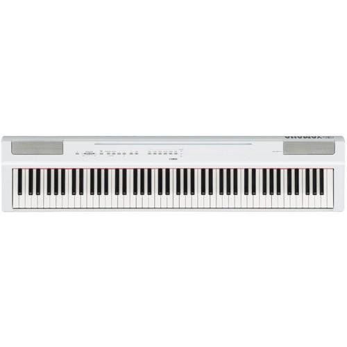ヤマハ P-125WH 電子ピアノ 無料 優先配送 Pシリーズ ホワイト