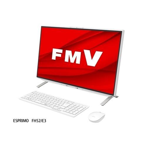 富士通 FMVF52E3W 超激安特価 希望者のみラッピング無料 デスクトップパソコン ホワイト ESPRIMO FMV