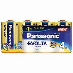 パナソニック 単1形 ☆最安値に挑戦 アルカリ乾電池 エボルタ 人気海外一番 4SW LR20EJ 4本入り