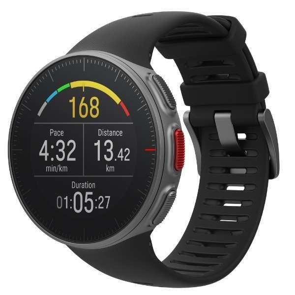 ポラール 90069633 GPSマルチスポーツウォッチ Vantage V HR ブラック