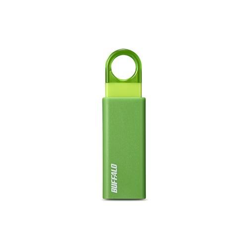 バッファロー RUF3-KS16GA-GR オートリターン機構搭載 USB3.1 全国どこでも送料無料 新品 送料無料 Gen1 USB3.0対応USBメモリー グリーン 16GB