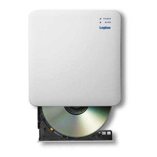引き出物 エレコム LDR-PS24GWU3RWH 2.4GHz ご注文で当日配送 CD録音ドライブ WiFi