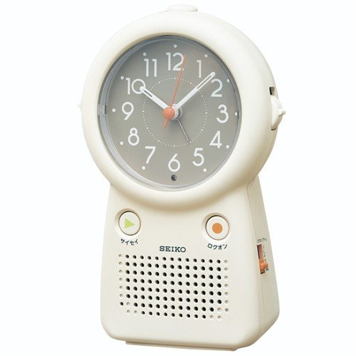 セイコークロック EF506C 目ざまし時計 公式サイト アイボリー 録音再生可能 爆安