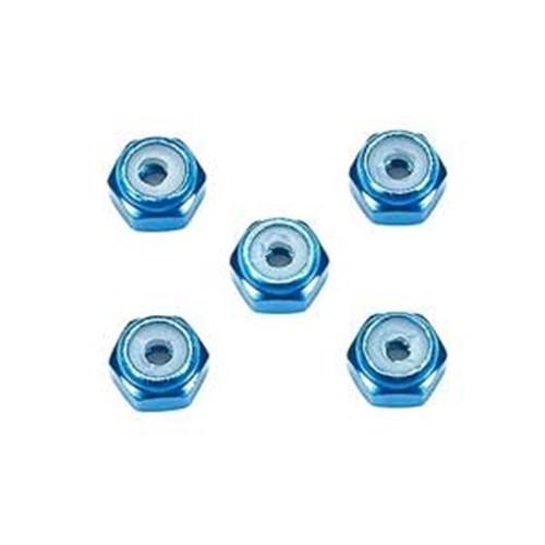 タミヤ GP.500 2mm アルミロックナット ミニ四駆パーツ 15500 無料 永遠の定番 ブルー5個