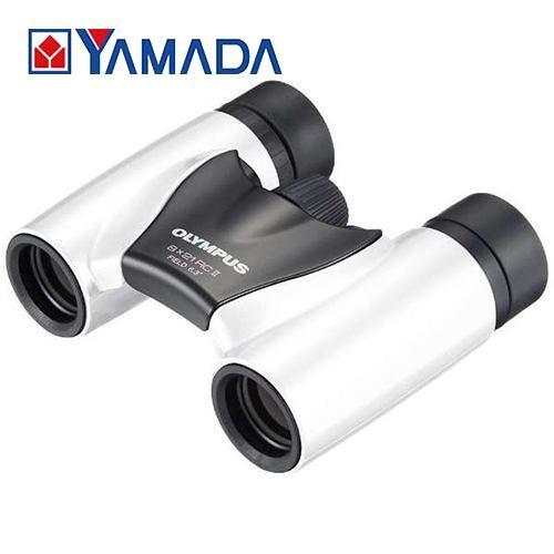 贈呈 新色追加して再販 オリンパス 8x21RCII Trip light 8×21 双眼鏡 RC II-W パールホワイト