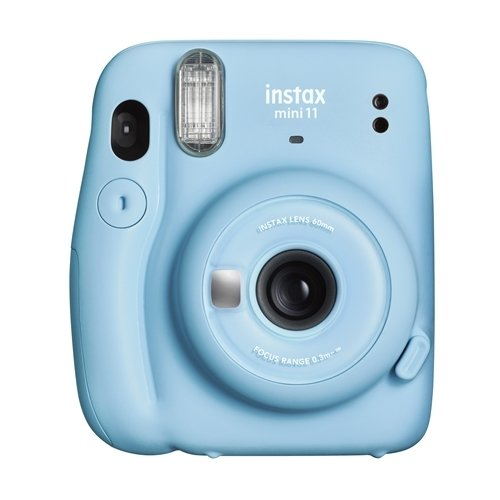 数量限定アウトレット最安価格 富士フイルム ◆セール特価品◆ INSTAXMINI11 BLU チェキカメラ ブルー