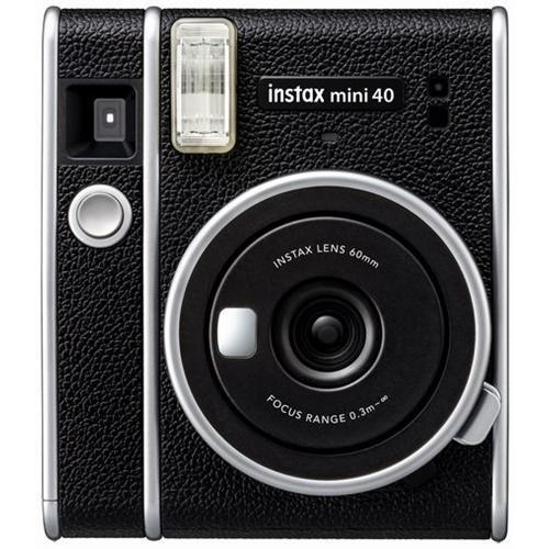富士フイルム INSTAXMINI40 店内限界値引き中 セルフラッピング無料 BLK チェキ 卓越 チェキカメラ ブラック