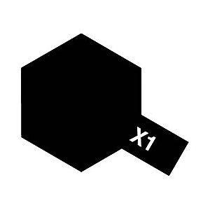 新生活 タミヤ タミヤカラー 光沢 アクリルミニX1ブラック 日本正規代理店品