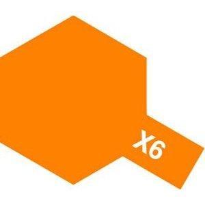 タミヤ 70%OFFアウトレット タミヤカラー アクリルミニ オレンジ X−6 爆安プライス
