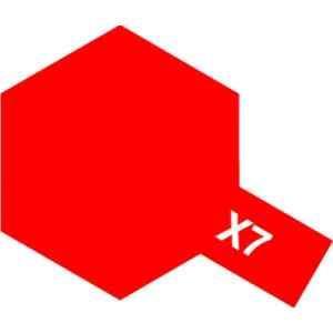 タミヤ タミヤカラー 5☆好評 国内在庫 アクリルミニ X−7 レッド
