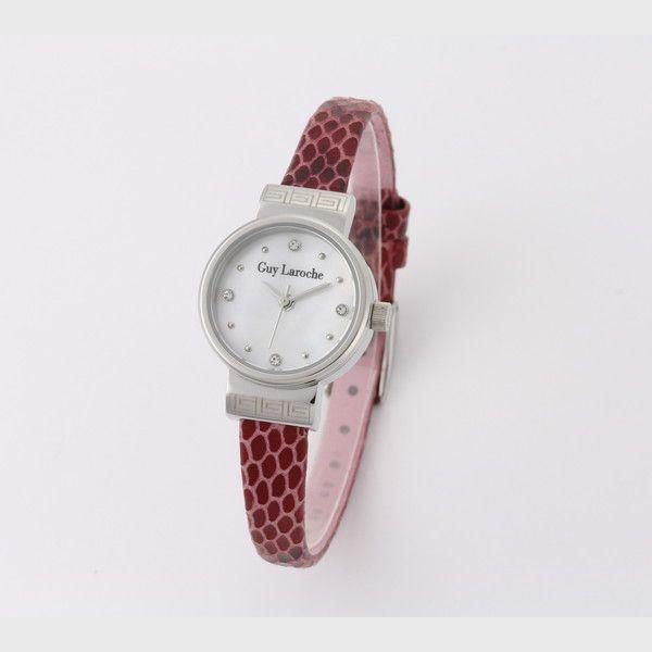 人気絶頂 Guy Laroche(ギラロッシュ) 腕時計 L5009-01, 関東土建shop d77e111b
