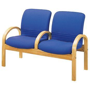 ソファー 2人掛 中肘付 ナイキ ロビーシリーズ97 介護福祉施設用家具 ロビーチェア RC972SHF NAIKI NAIKI