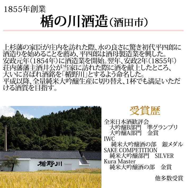 楯野川 純米大吟醸 雅流720ml 日本酒 山形 花以外 yamagatamaru 03