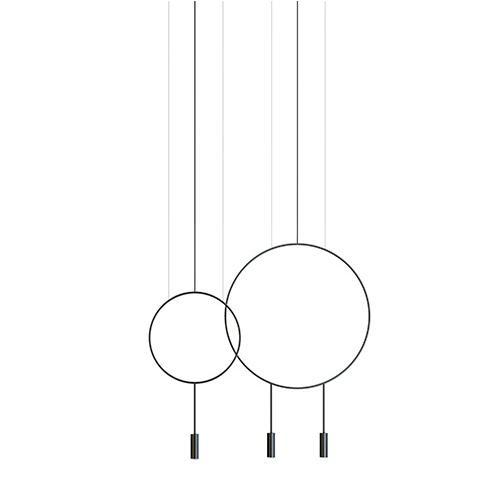 Estiluz(エスティルース) ペンダント照明 REVOLTA L73.1S1D ブラック(受注品)