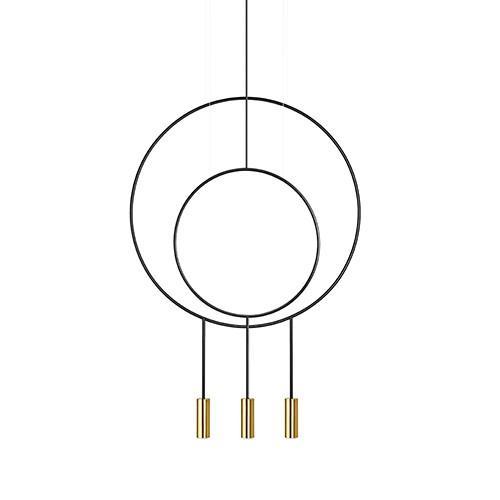 Estiluz(エスティルース) ペンダント照明 REVOLTA R40.1S1D ゴールド(受注品)