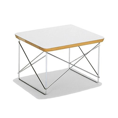ハーマンミラー 「Eames Wire-Base Table」 スタジオホワイト (取寄品)
