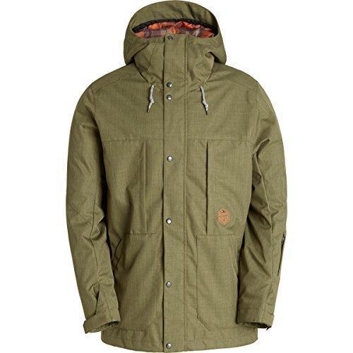 BillabongメンズNorth poleshell雪ジャケット US サイズ: XL カラー: グリーン【並行輸入品】