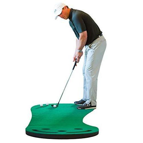 Shaun Webb 室内ゴルフ用人工芝マット 9x3フィート (PGAプロ&ゴルフダイジェストのトップ講師Shaun Webb氏