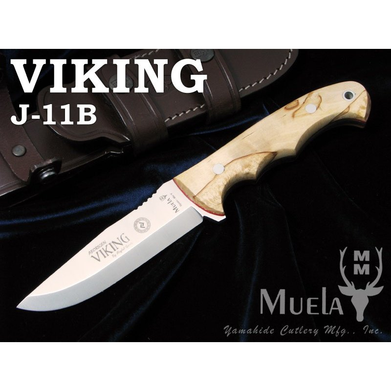 ムエラ VIKING.J-11B バイキング シースナイフ,Muela