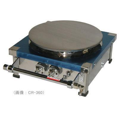 天然ガス用 CR-360(クレープ焼き器) 鉄板直径 360mm山下金物製 (送料無料)