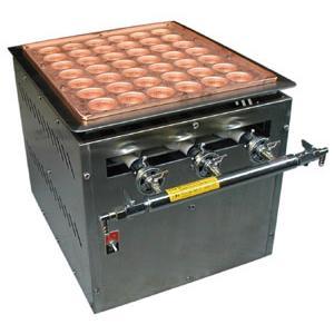 (要 納期確認) 天然ガス用 ガス式48mm(自動たこ焼き機) (送料無料)