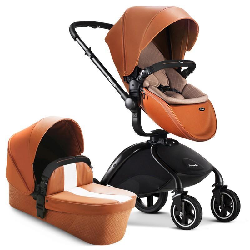 高級ベビーカー セレブ スリーピングバスケット + 安全カーシート 赤ちゃん  ベビーカー