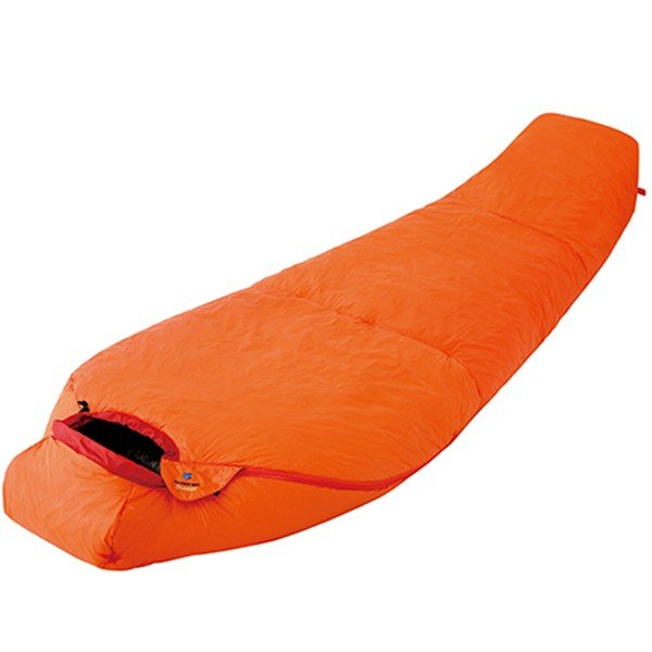 finetrack ファイントラック ポリゴンネストオレンジショート/OG FAG0552 マミー型寝袋 オレンジ ウインタータイプ(冬用)