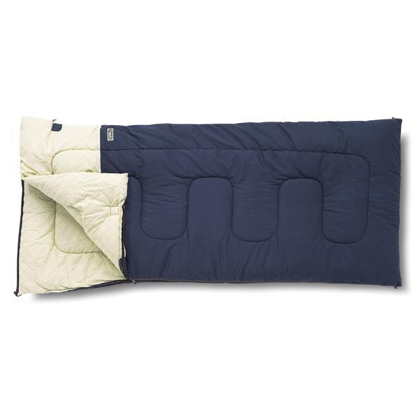 ogawa campal 小川キャンパル フィールドドリームDX-3/プルシアンブルー 50 1038 封筒型寝袋 ネイビー オールシーズンタイプ