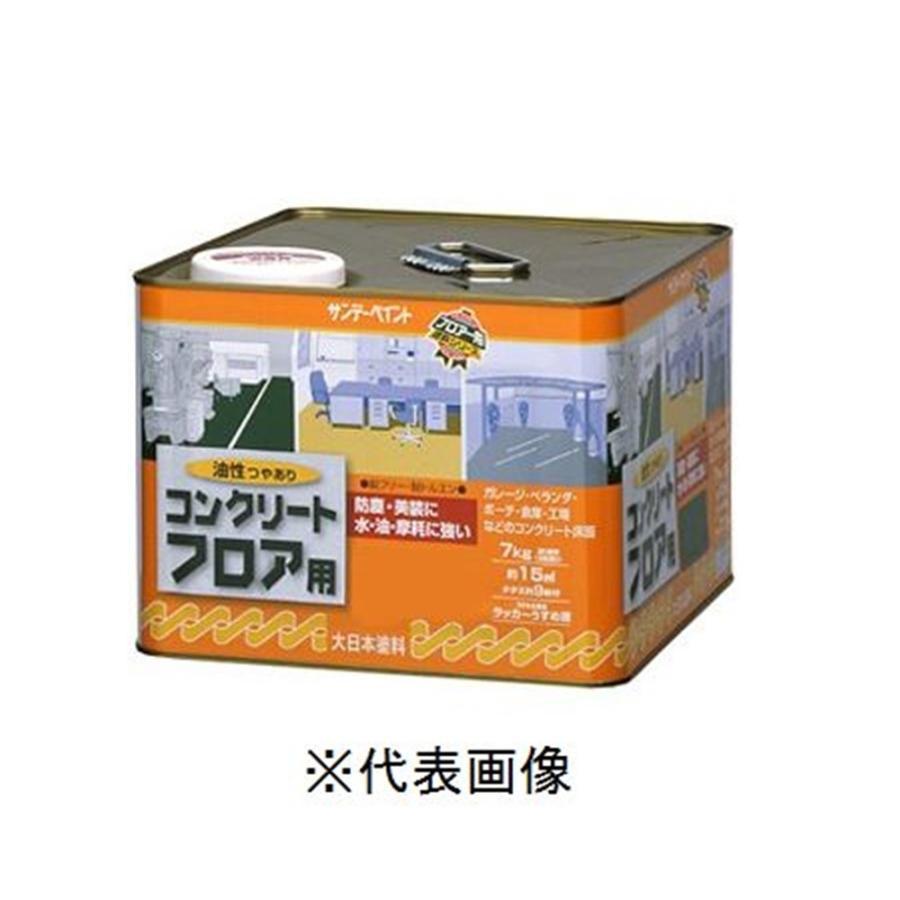 サンデーペイント 油性コンクリートフロア用(若竹色) 【14kg】