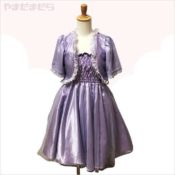 フェミニンなミニ丈ドレス♪(女性) やまだまだら|yamamada
