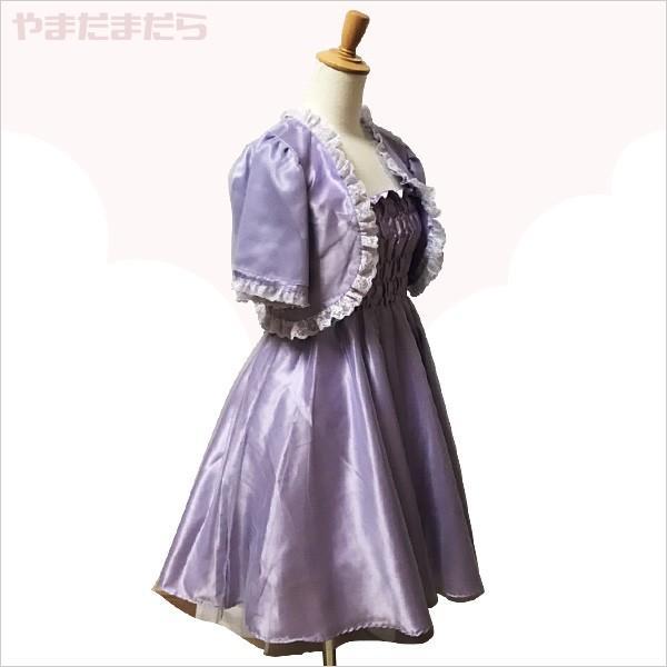 フェミニンなミニ丈ドレス♪(女性) やまだまだら|yamamada|02