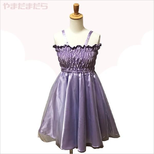 フェミニンなミニ丈ドレス♪(女性) やまだまだら|yamamada|04